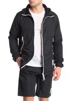 Asics Convertible Zip-Up Hooded Jacket