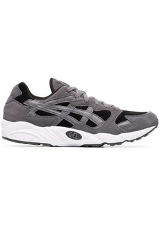 Asics grey, black and white gel diablo sneakers
