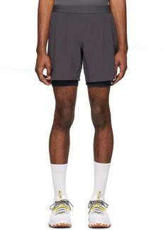 Asics Grey Road 2-In-1 Shorts