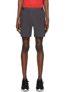 "Asics Grey Road 7"" Shorts"