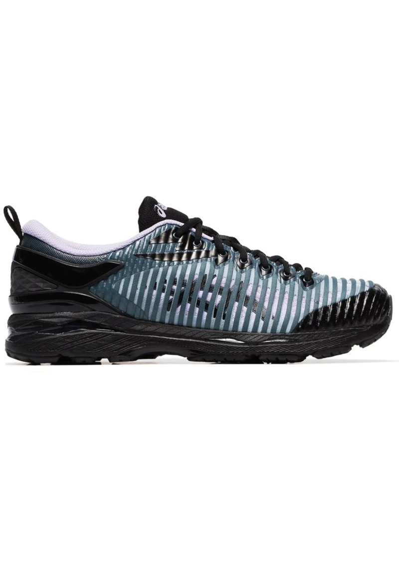 purple, blue and black Asics X Kiko Kostadinov Delva sneakers