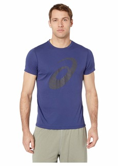 Asics Run Silver Short Sleeve Graphic 3 Top