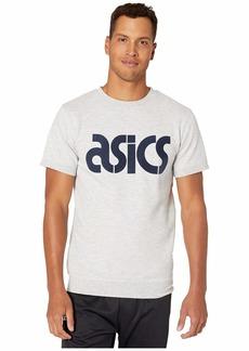 Asics Sweat Short Sleeve Top