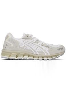 Asics White & Grey Gel-Kayano 5 360 Sneakers