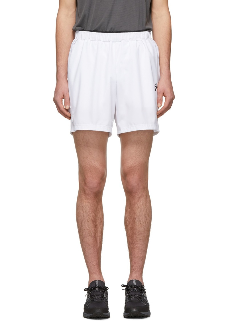 Asics White Club NS Shorts