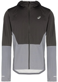 Asics two-tone zip-front jacket