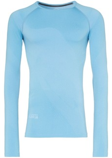 Asics x Kiko seamless long-sleeved T-shirt