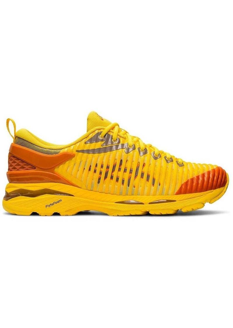 Asics yellow and orange X Kiko Kostadinov Delva sneakers