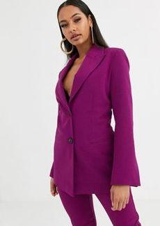 ASOS DESIGN pop suit blazer in purple