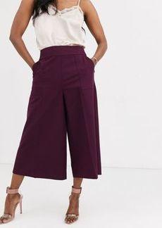 ASOS DESIGN tailored Clean Culottes