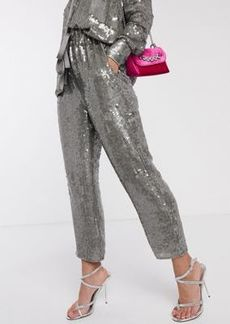 ASOS EDITION sequin jogger