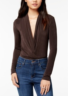 Astr The Label Emery Ruched Bodysuit