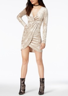 Astr The Label Mandy Faux-Wrap Dress