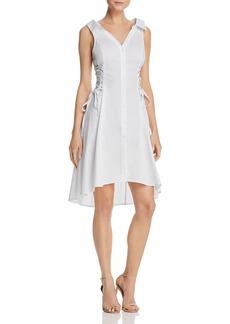 ASTR Sydney Corset Detail Shirt Dress