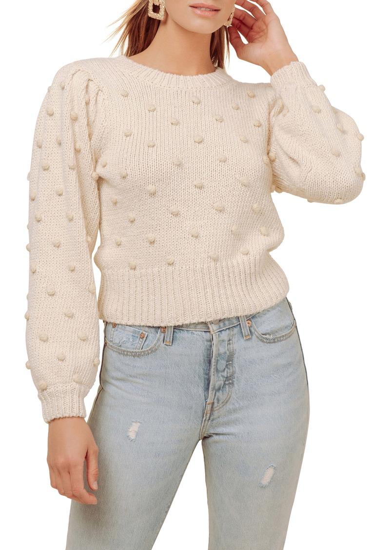 ASTR the Label Aidy Pompom Dot Sweater