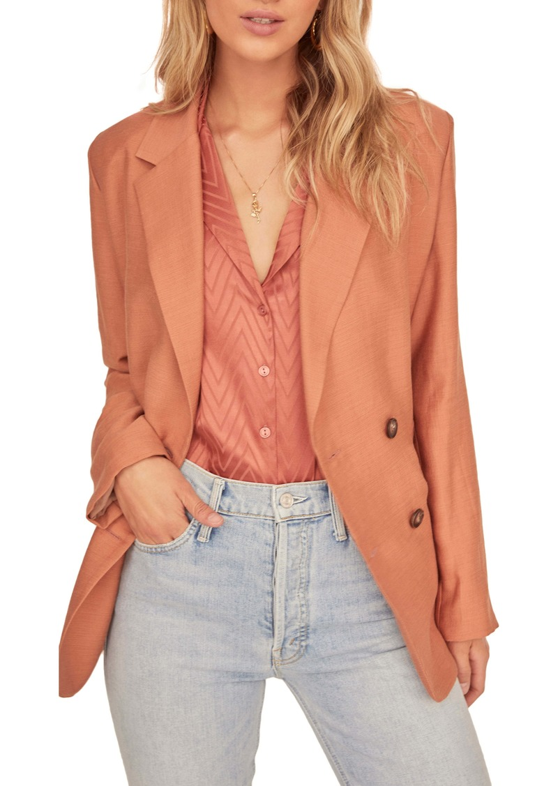ASTR the Label Allegra Double Breasted Blazer