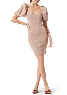 ASTR the Label Balloon Sleeve Body-Con Dress