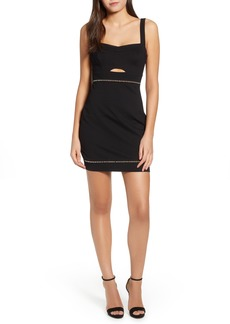 ASTR the Label Beaded Body-Con Dress