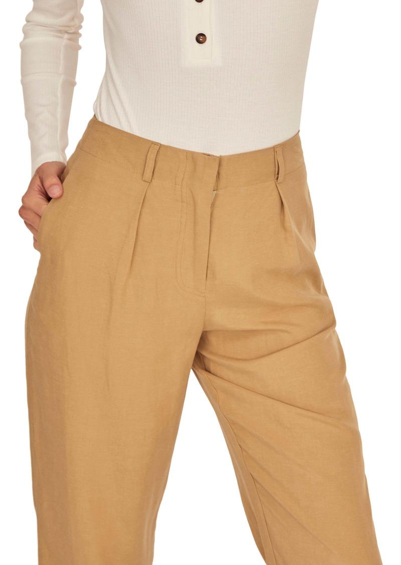 ASTR the Label Calla Pleated Straight Leg Pants