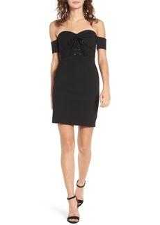 ASTR the Label Corset Body-Con Dress