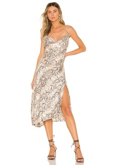 ASTR the Label Cowl Strappy Dress