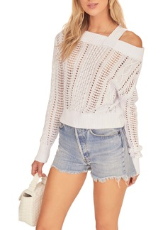 ASTR the Label Daphne Open Knit Sweater