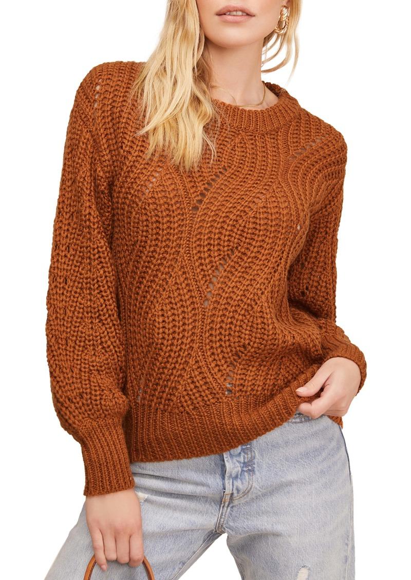 ASTR the Label Dora Blouson Sleeve Sweater