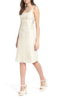 ASTR the Label Elena Lace Side Dress