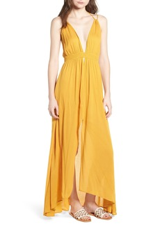 ASTR the Label Gauze Crinkle Maxi Dress