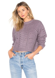 ASTR the Label Georgia Sweater In Lilac