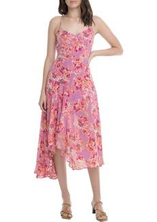 ASTR the Label Janine Handkerchief Hem Dress
