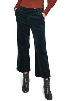 ASTR the Label Jasper Crop Flare Corduroy Pants