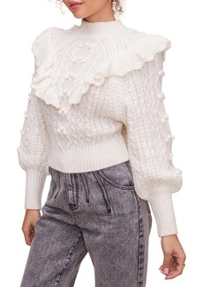 ASTR the Label Judy Stitch Mix Sweater
