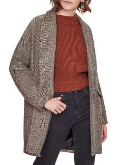 ASTR the Label Keller Peaked Lapel Coat