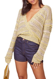 ASTR the Label Kent Wrap Front Sweater