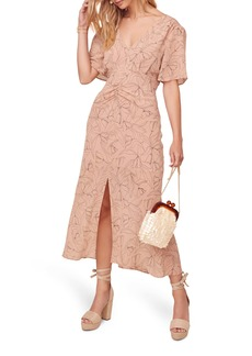 ASTR the Label Kindred Printed Midi Dress