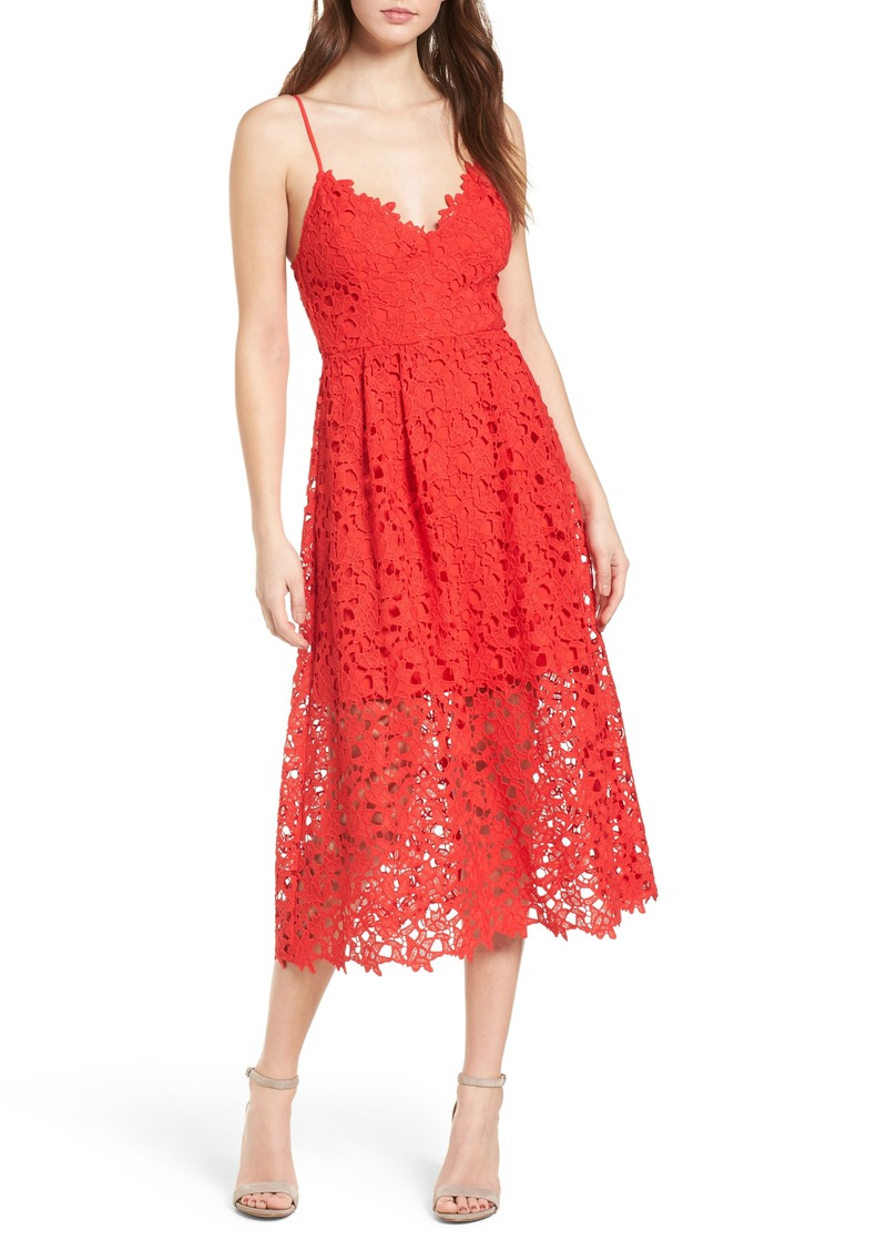 43c9c8c18191 ASTR ASTR the Label Lace Midi Dress