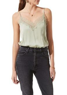 ASTR the Label Lace Trim Camisole Bodysuit