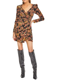 ASTR the Label Lanita Faux Wrap Minidress