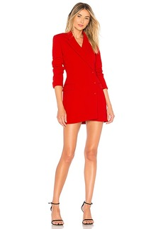 ASTR the Label Lina Dress In Lipstick Red