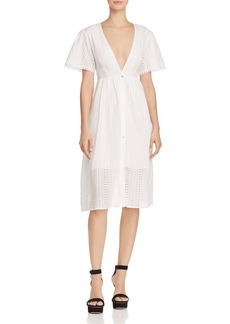 ASTR the Label Liv Eyelet Dress