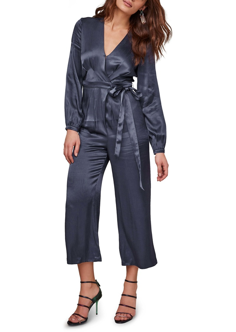 ASTR the Label Malin Tie Waist Jumpsuit