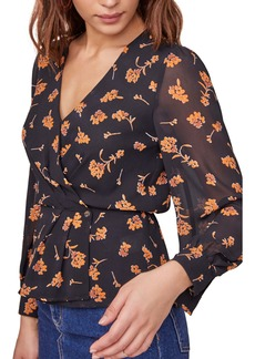 ASTR the Label McKenna Floral Print Top