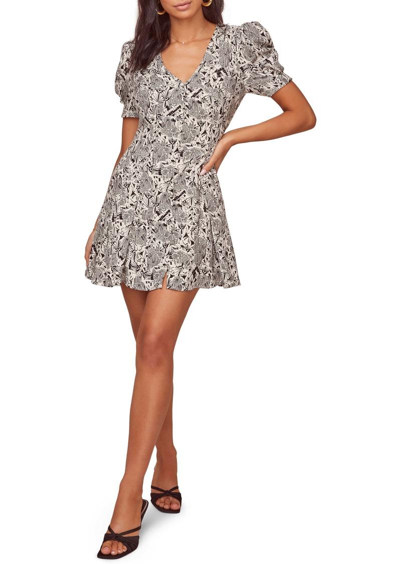 ASTR the Label Merci Floral A-Line Dress