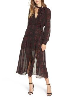 ASTR the Label Natalie Midi Dress
