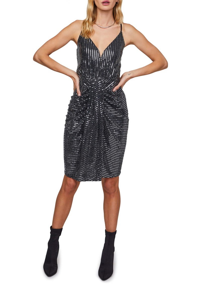 ASTR the Label Night Owl Metallic Dress