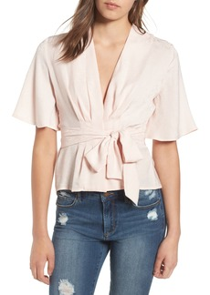 ASTR the Label Pleated Top