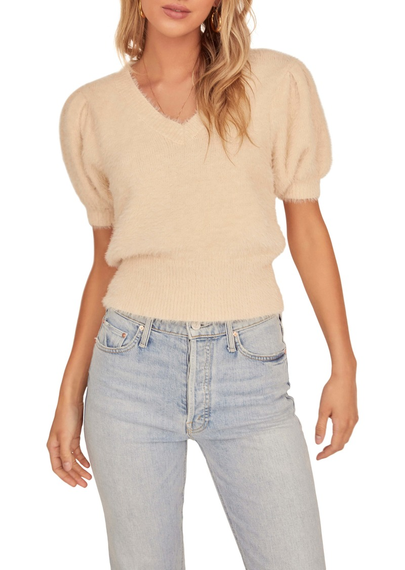 ASTR the Label Puff Sleeve Sweater