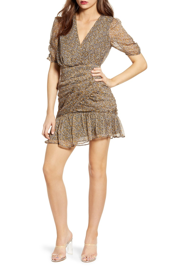 ASTR the Label Shirred Minidress