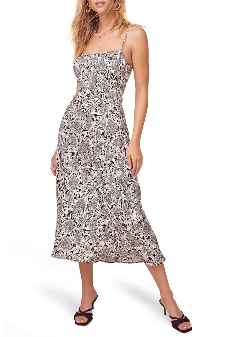 ASTR the Label Sleeveless Midi Dress